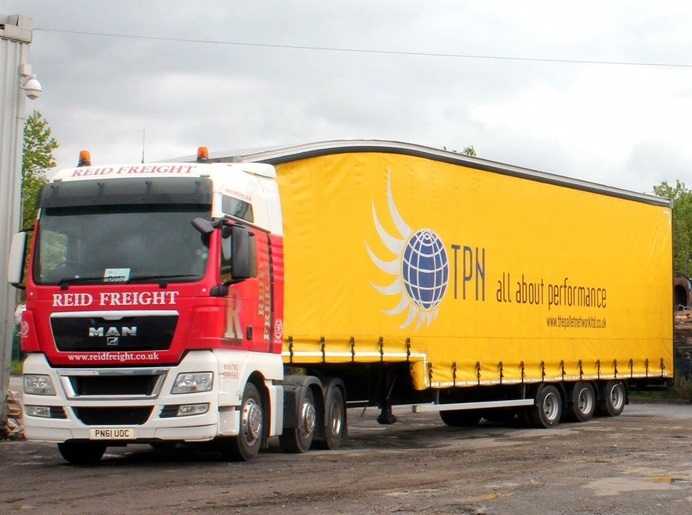 Reid Freight spends £300K on new trucks, trailers and a spacious TPN warehouse