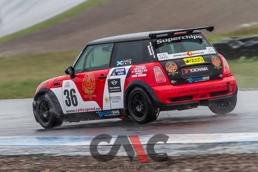 Haig Transport shows its Celtic spirit in Mini Cooper Cup Championship