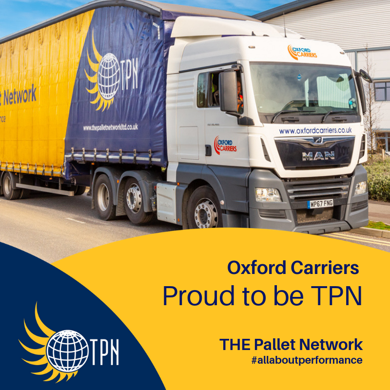 Oxford Carriers chooses to join TPN for service and sector-leading IT systems