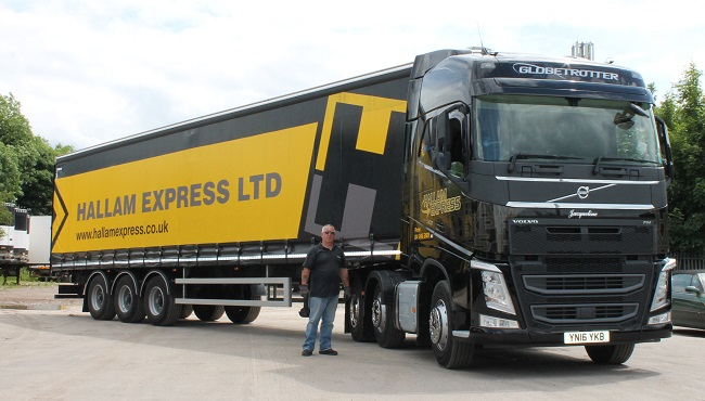 Hallam Express invests in top-range kit
