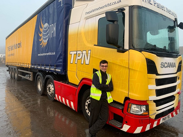 TPN Teesside driver 'living the dream'