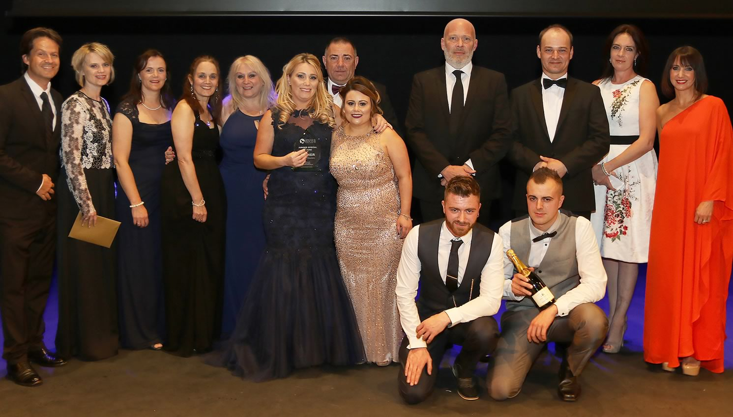 Station Couriers wins judges' commendation at Powys Business Awards