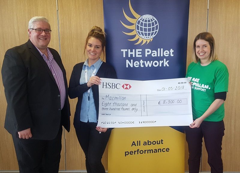 TPN Awards 2018 raises more than £8,000 for Macmillan Cancer Support