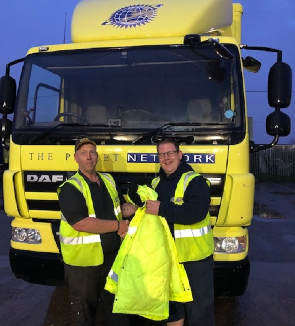 TPN driver is praised for heroism after protecting an elderly customer